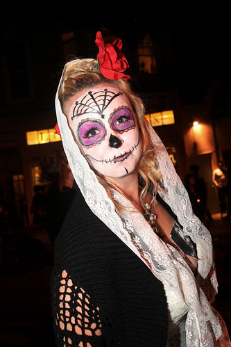 Day of the Dead Painted Woman