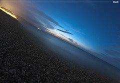 Blue (A-lain W-allior A-rtworks) Tags: sea mer france beach stone clouds nikon normandie pierres nuages plage hdr manche cailloux roxk atlantique galets ocan 3raw d300s mygearandme ringexcellence