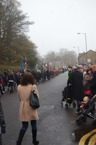 Remembrance Day Whickham Nov 11 62