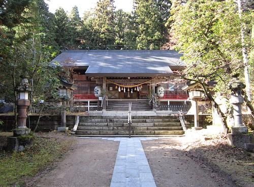有明山神社本殿 2011年11月12日 by Poran111
