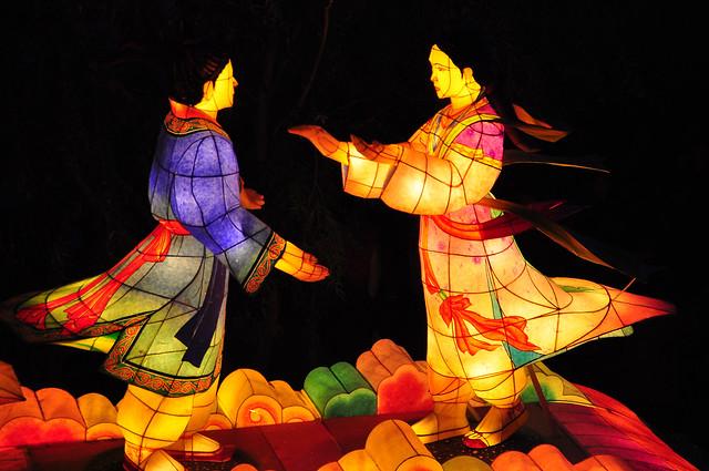 A Korean Love Story -- Seoul Lantern Festival