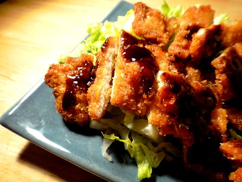 Tonkatsu close-up