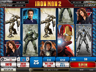 Iron Man 2 Slot Machine