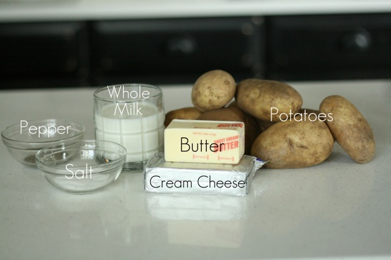Potatoes Ingredients