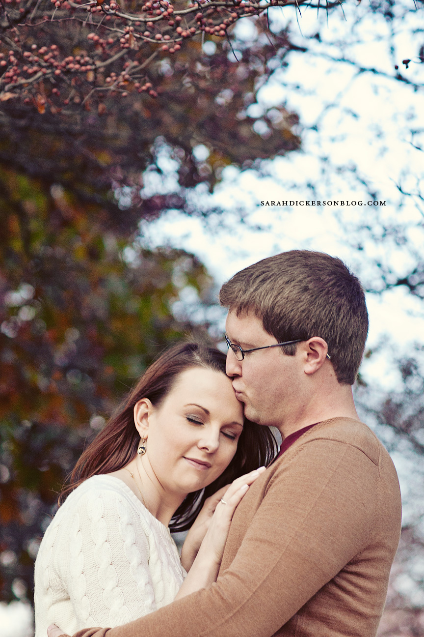 University of Kansas engagement session