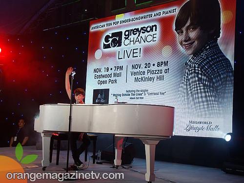 Greyson Chance Live in Manila 9