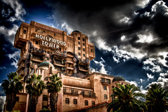 Do You Know How Hard It Is To Steal A Towel From This Place? (hbmike2000) Tags: nikon disneyland disney resort d200 hdr towerofterror hollywoodtowerhotel disneyscaliforniaadventure hss hollywoodbacklot sliderssunday hbmike2000