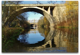 two bridges above the river Oker