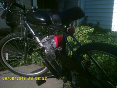 motorized bicycle (john gosk) Tags: bike motorized