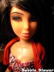 Daniela Custom Re-Do (Bubble_Blower) Tags: out doll eyelashes natural spin creative fresh master artsy daniela liv schools custom false repaint