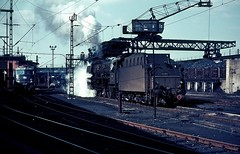 03 292  Hbg - Altona  24.03.67 (w. + h. brutzer) Tags: analog train germany deutschland eisenbahn railway zug trains db steam 03 locomotive 80er dampflok lokomotive jahre eisenbahnen 70erjahre dampfloks webru hbgaltona