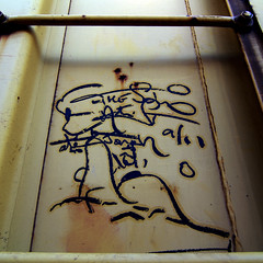 THE SOLO ARTIST (TRUE 2 DEATH) Tags: railroad streetart art train graffiti streak tag graf railcar tsa boxcar railways hobo railfan freight freighttrain rollingstock monikers soloartist moniker meanstreaks hobotag hobomoniker thesoloartist hoboart benching paintsticks railroadart boxcarart oilbars freighttraingraffiti markals