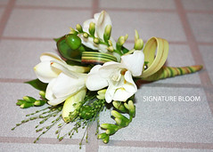 Wedding Florist Los Altos Hills California, White Corsage (Signature Bloom) Tags: california ca flowers wedding white flower floral beautiful design photo designer sanjose designs florist mountainview weddings bridal ideas corsage weddingflowers losaltoshills freesia 94022 floraldesign florists 94024 whitewedding corsages weddingideas bridalflowers floraldesigner losaltoshillsca flowerdesign hypericumberry weddingflorist losaltoshillscalifornia weddingfloral weddingflorists whitecorsage flowersforwedding corsageideas signaturebloom wwwsignaturebloomcom bridalflorist weddingfloristlosaltoshillscalifornia losaltoshillscaliforniaweddingflorist