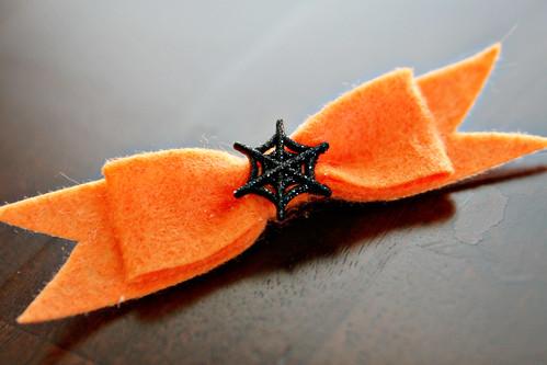 Spooky Felt Bow 9