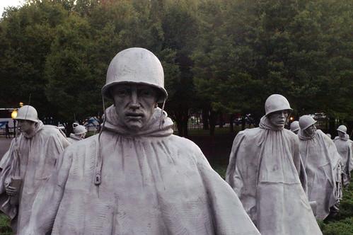 Korean War Memorial is so touching