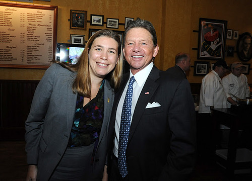 Lindsey Pugh and Chip Akridge