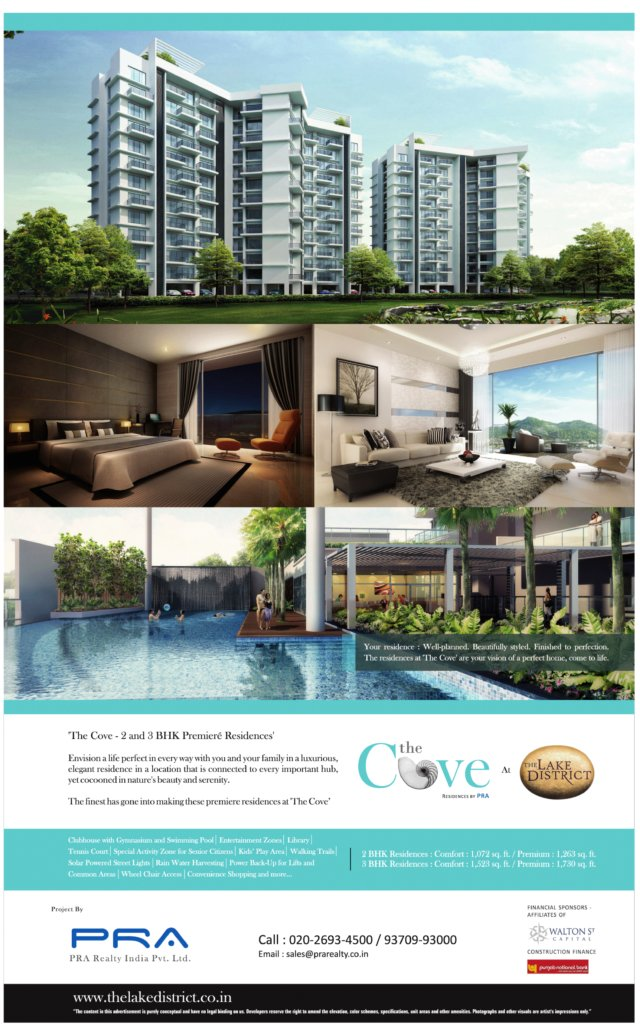 The Cove - 2 BHK 3 BHK Premium Flats - The Lake District - Yewalewadi - Kondhwa Annex - Pune 411 048  - 2