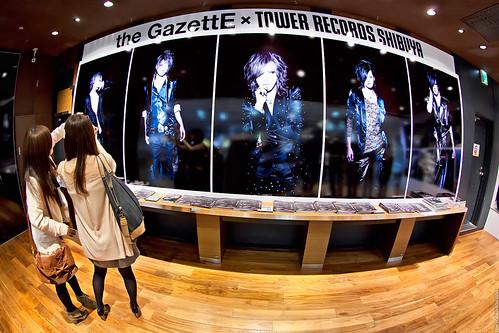 The GazettE x Tower Records Shibuya