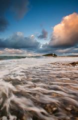 'Storm-Swept' - Black Point, Anglesey (Kristofer Williams) Tags: longexposure sunset seascape beach water clouds landscape coast surf waves pebbles coastline storms winds seas blackpoint anglesey northwales 10mm penmon penmonpoint lighthousetrek