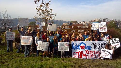 Pitt AASHE Protest