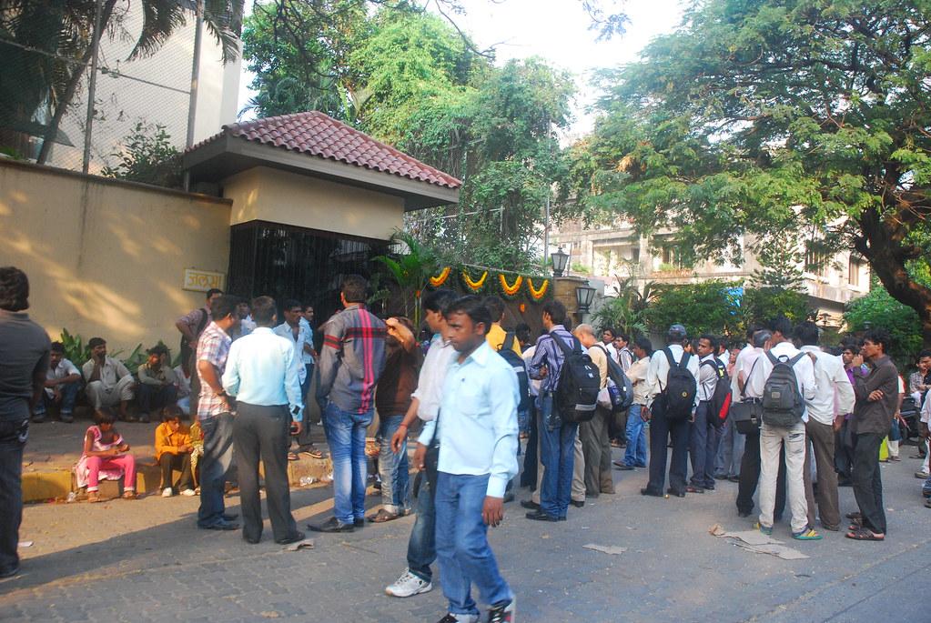 69 Birthday Mr Amitabh Bachchan 11 October 2011 Juhu