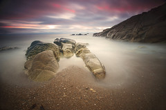 the famous place !! unknown... (s_T_3_f) Tags: ocean bridge sunset sea seascape beach water photography this bravo rocks long exposure arch angle flat natural zoom bretagne grand arches cliffs breizh full frame nd pont reverse grad 56 arche 1735mm 18200mm gnd photographyrocks singhray 10stop nd1000 theunforgettablepictures gnd3 bestcapturesaoi