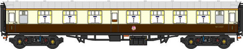 Heritage Mk1 First Class carriage - graphic