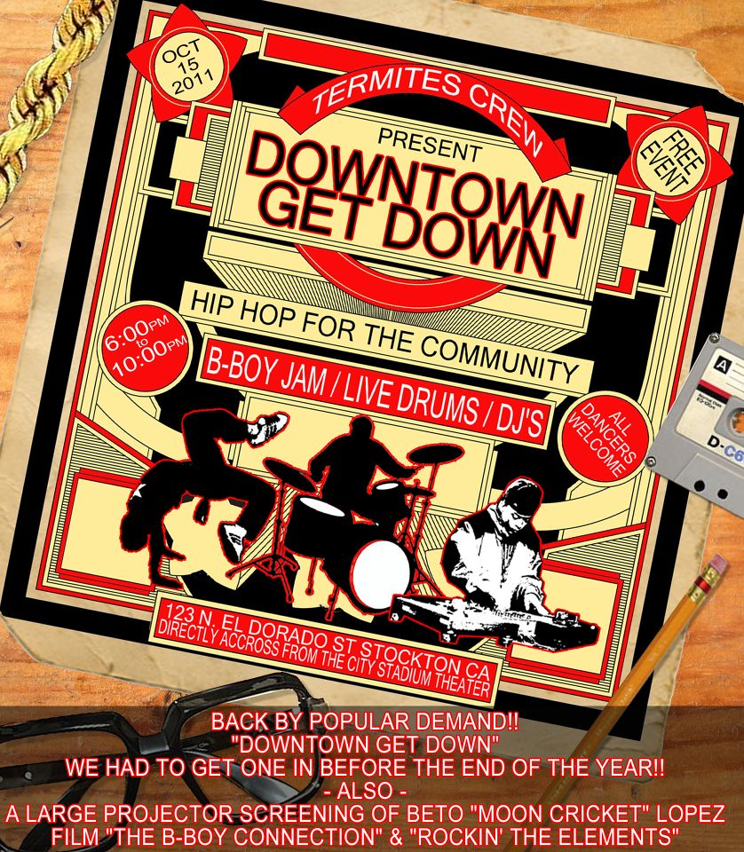 The Downtown Get Down/Free Bboy out door jam
