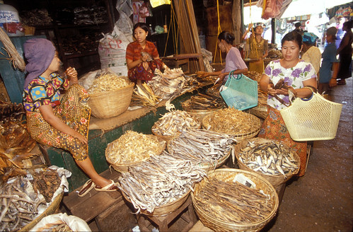 Market, Cambodia. Photo by Dominyk Lever, 2004