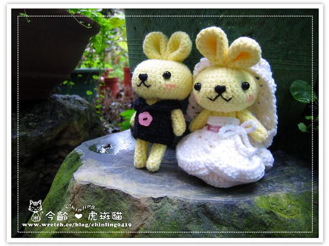 兔子.婚禮娃娃2
