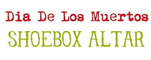 shoebox altar