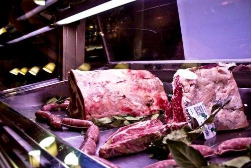 La carne al Ristorante Braceria Pizzeria Hostaria Nova