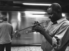 """The Melancholic Trumpeter"" (Sion Fullana) Tags: nyc urban blackandwhite bw musician newyork blancoynegro beauty portraits citylife streetshots streetphotography trumpet characters melancholy cinematic performer allrightsreserved newyorkers newyorklife streetmusician melancholic iphone trumpeter trompeta newyorksubway urbanshots urbannewyork trompetista mobilephotography newiphone iphonephotography iphoneshots iphoneography iphoneographer sionfullana editedanduploadedoniphone throughthelensofaniphone iphone4s iphone4sphotography"