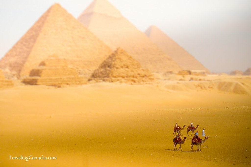 Egyptian Pyramids Miniature