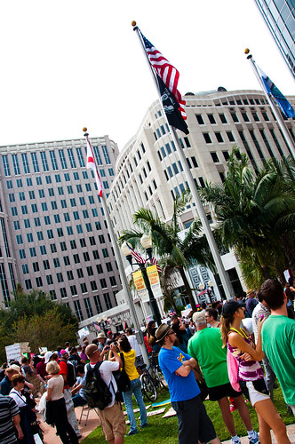 Occupy Orlando (Photo: Rich Johnson, flickr)