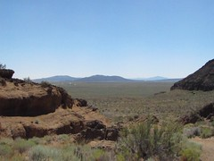 Inside Fort Rock (Anomieus) Tags: statepark park trip usa rock oregon landscape desert state hiking scenic dry landmark rockclimbing volcanic barren tuffring