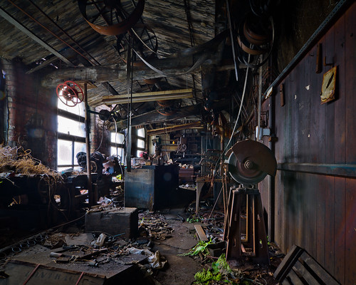 Jack's Workshop: Dalton Mills, Keighley, West Yorkshire
