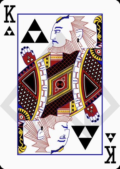 Cartas de póquer de Zelda 5