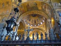 venice basilica san marco sanctuary screen 1