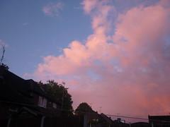 pink sky at night (Ellie~*) Tags: pink sky clouds pinkclouds