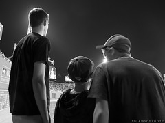 Fenway (sdlawsonphoto) Tags: summer blackandwhite bw fall sports boys boston baseball brothers stadium redsox fenway g11 endofsummer canong11 powershotg11 sdlawsonphoto