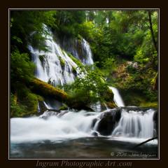 Perfect Panther (Jon_Ingram.) Tags: green art oregon creek landscape waterfall jon pacific northwest photographic falls panther ingram pnwcreekriver