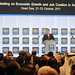 H. M. King Abdullah II of Jordan - World Economic Forum Special Meeting on Economic Growth and Job Creation in the Arab World