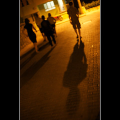 streetwalking at night (khrawlings) Tags: street shadow night turkey walking selcuk ephesus 2011 khrawlings
