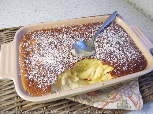 Zitronen&Vanille Pfützen-Pudding