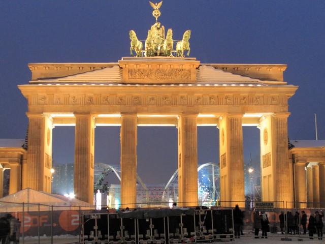 Brandebourg Gate @Berlin