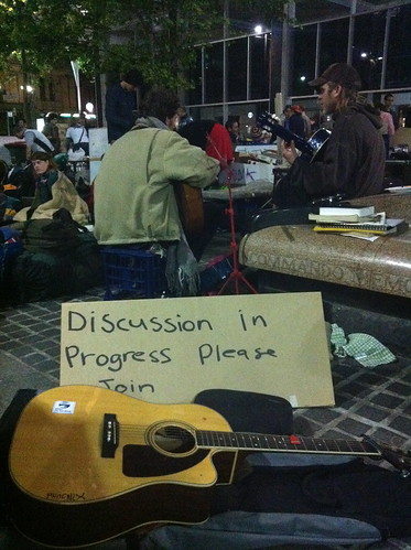Occupy Sydney - Discussion in progress please join