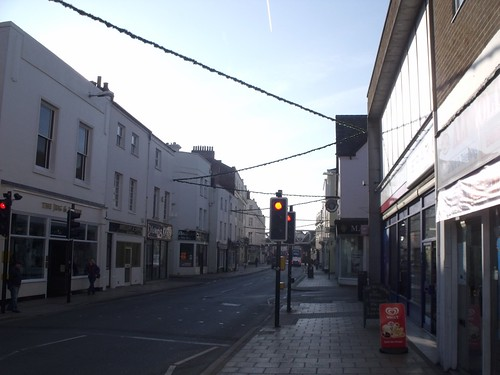 Jug & Jester, 11 and 13 Bath Street, Leamington Spa - a look down Bath Street