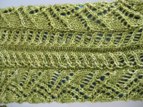 Crocus Sock Close Up