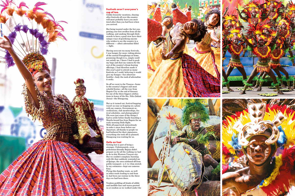AsianTraveler magazine: Dinagyang article (January 2011)